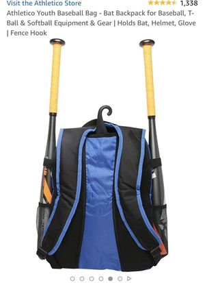 Athletico Youth Baseball Bag for Sale in Oceanside, CA