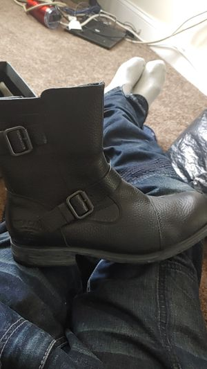 Kenneth Cole..motorcycle style boots for Sale in Washington, DC