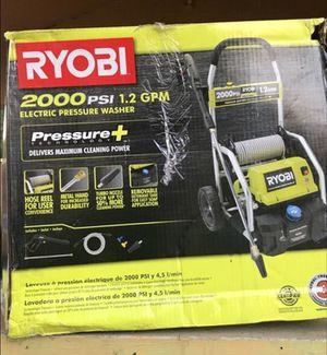 ryobi 2000 pressure washer (electric) for Sale in Dallas, TX