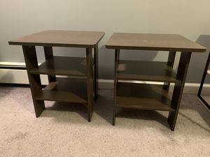 Set of 2 side tables for Sale in North Bellmore, NY