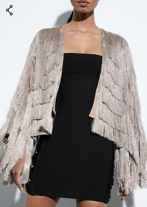 Fringe metallic jacket for Sale in Belle Isle, FL