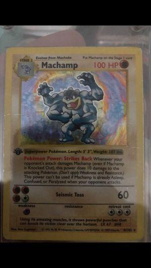 Machamp pokémon card for Sale in Newport, RI