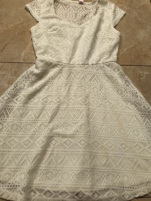 No Boundaries White Lace Heart Shaped Dress for Sale in Garden Grove, CA