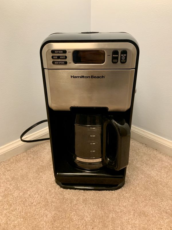 Stainless Steel 12-Cup Coffee Maker