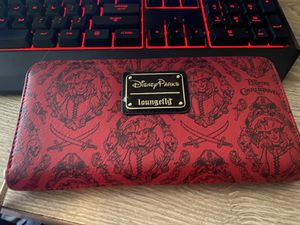Redd, Pirates of the Caribbean, Disney Parks Loungefly wallet for Sale in San Bernardino, CA