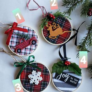 Embroidery Hoop Handcrafted Ornaments for Sale in San Leandro, CA