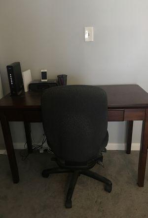 Desk and computer chair!!! for Sale in Atlanta, GA
