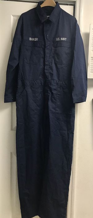US Navy utility coveralls- size 44xl -authentic. Very good condition for Sale in Bradenton, FL