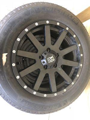 Terrain custom made4 rims and tires for sale size 17!GMC Terrain!! for Sale in Miami, FL