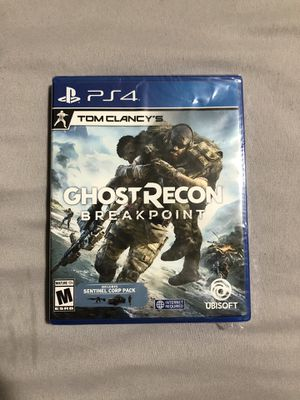 Tom Clancy's Ghost Recon Breakpoint - PS4 for Sale in Upland, CA