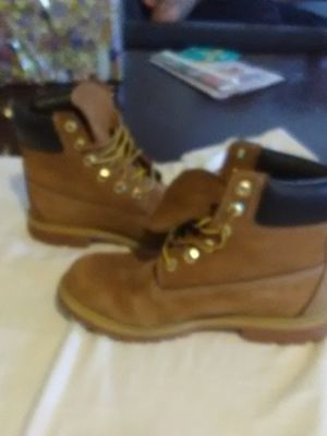 Timberland Pecan/Walnut Colored Boots - Worn 3 times! for Sale in Somerset, WI