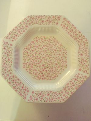 12 Mary Jane- Independence Irionstone interpace- JAPAN 10 5/8 dinner plate - EUC for Sale in Pasco, WA