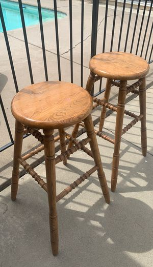Wooden bar stools for Sale in Long Beach, CA