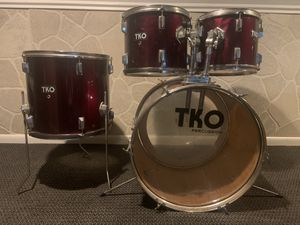 TKO 424 3 piece drum set for Sale in Kentwood, MI
