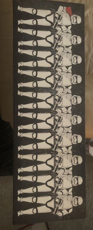 Star Wars storm trooper painting for Sale in Apache Junction, AZ