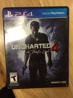 PS4 Uncharted 4 PlayStation 4 for Sale in New York, NY