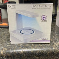 UV Phone/tablet Sanitizer &fast Wireless Charging for Sale in New Baltimore,  MI