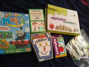 Kids games / flash cards for Sale in Los Angeles, CA