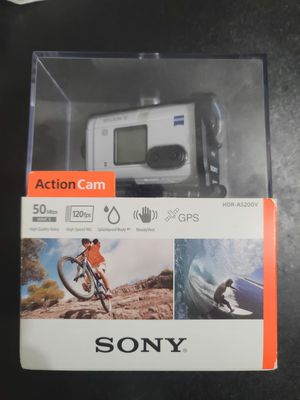 NEW Sony HDR-AS200V Action Cam + Live View Remote Kit + Underwater for Sale in Cutler Bay, FL