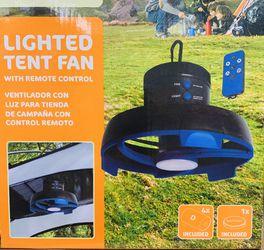 Remote control fan and light for tents, umbrellas, patios, decks, Florida room for Sale in Pembroke Park,  FL