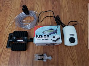 Aquarium Foam Filter + Air pump and accessories for Sale in Woodbridge, VA