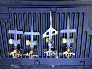 stake sprinklers set of 4 for Sale in Foxborough, MA