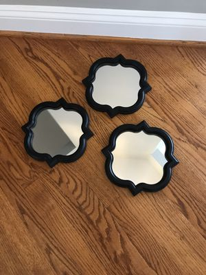 Set of 3 mirrors for Sale in Mount Airy, MD