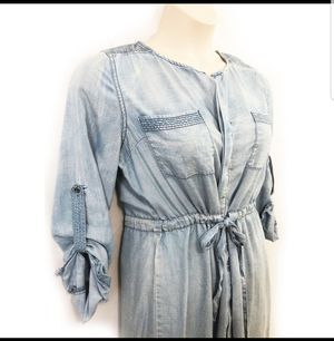 Skies Are Blue Distressed Dress XS for Sale in Atlanta, GA