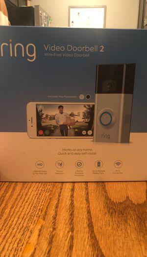 Ring Video Doorbell 2 for Sale in Lubbock, TX