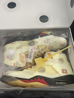 JORDAN 5 Retro Off-white Sail for Sale in Portland,  OR