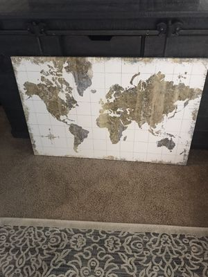 Canvas map for Sale in Gig Harbor, WA