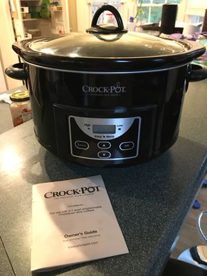 Crock pot. Used once for Sale in Vienna, VA