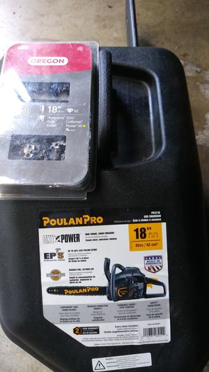 Poulan Pro 18in chainsaw for Sale in Columbus, OH