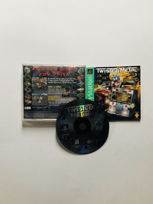 Twisted metal PlayStation 1 Ps1 for Sale in Long Beach, CA