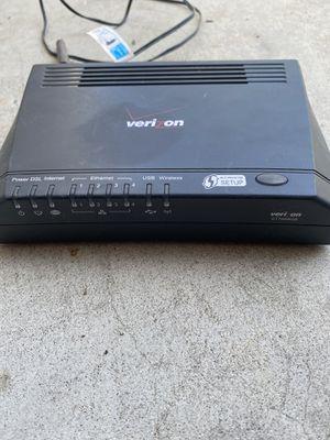 Verizon DSL/Router/Modem for Sale in Santa Fe Springs, CA
