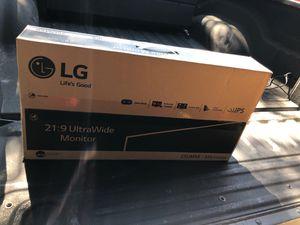 "25"" LG ultrawide monitor for Sale in Buda, TX"