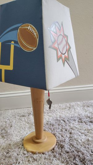 Super cute sports table lamp for Sale in Lacey, WA
