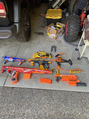Lot of nerf guns for Sale in Tigard, OR