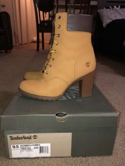 Timberland high heels for woman 9in the half for Sale in Oklahoma City,  OK