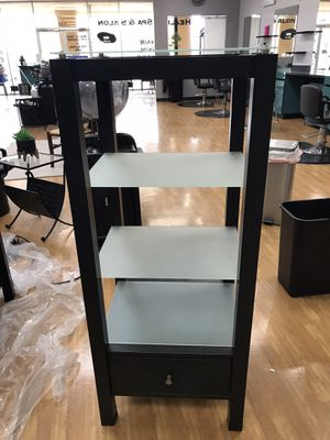 3 black and glass shelves for Sale in Melbourne, FL