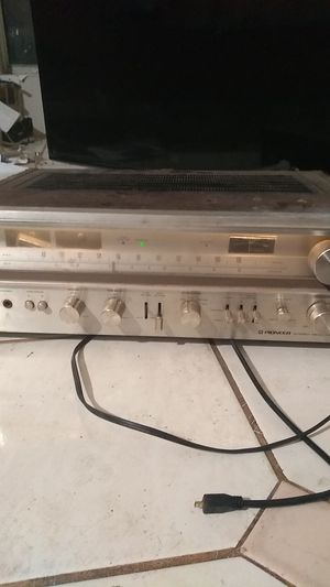 Pioneer receiver SX-780 made 1975 . for Sale in Houston, TX