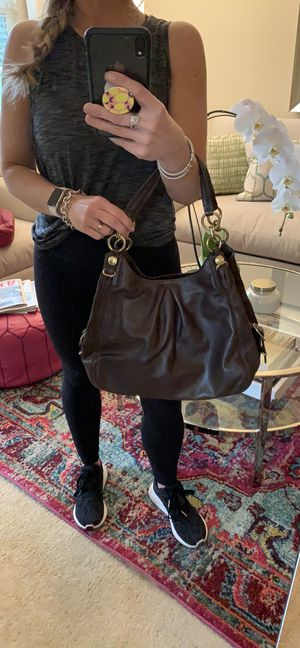Brown coach purse- like new! for Sale in Los Gatos, CA