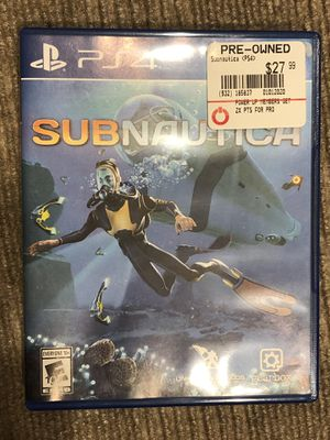 Subnautica - Playstation 4 (PS4) for Sale in Seattle, WA