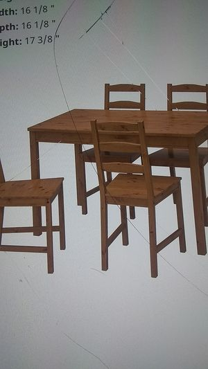 Ikea dining table set for Sale in Portland, OR