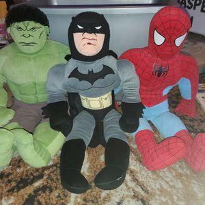 superhero plushies for Sale in Everett, WA