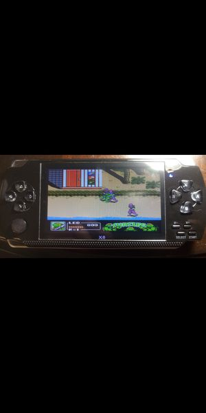 4.3 inch screen Handheld Portable Game Console TMNT! AND 10,000 Free Games, for Sale in Miami, FL