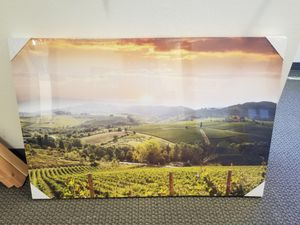 Wall Art: Beautiful Vineyard with Rolling Hills for Sale in Irvine, CA