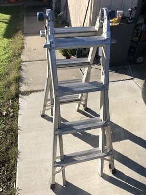 Werner Ladder Telescoping Triple Hinge 17 ft for Sale in Stockton, CA