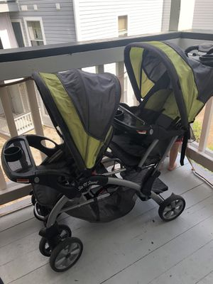 Babytrend Sit n Stand Double Stroller for Sale in Wilmington, NC