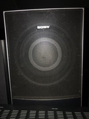 9 Speakers and 1 A Sony audio control center for Sale in San Jose, CA